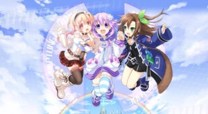 Rating: Safe Score: 40 Tags: choujigen_game_neptune compa if_(choujigen_game_neptune) neptune thighhighs tsunako User: Mugen_fuego25