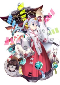 Rating: Safe Score: 14 Tags: animal_ears hatsune_miku miko tagme vocaloid User: Mr_GT