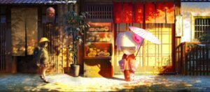 Rating: Safe Score: 24 Tags: kimono lost_elle seifuku umbrella User: charunetra