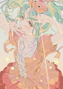 Rating: Safe Score: 35 Tags: bakemonogatari dress hong lolita_fashion monogatari_(series) nisemonogatari ononoki_yotsugi pointy_ears User: yanis