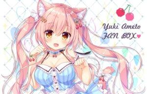 Rating: Safe Score: 54 Tags: ame_to_yuki animal_ears cleavage dress nekomimi tail User: 蕾咪