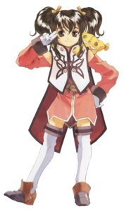 Rating: Safe Score: 4 Tags: anise_tatlin dress fujishima_kousuke tales_of tales_of_the_abyss thighhighs User: Radioactive