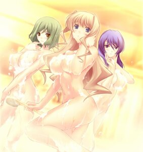 Rating: Questionable Score: 49 Tags: bathing game_cg helgarose_von_falkenmayer ilfriede_von_feulner lunateresia_von_wizleben miyata_ao muvluv muvluv_alternative_chronicles naked wet User: onesangheili
