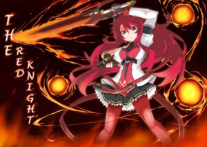 Rating: Safe Score: 28 Tags: dress elesis elsword pantyhose sword tagme User: fairyren