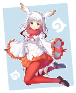 Rating: Safe Score: 34 Tags: crested_ibis kemono_friends kuta_(shi_cai) pantyhose tail wings User: Mr_GT