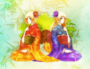 Rating: Safe Score: 6 Tags: hetalia_axis_powers kimono kotokoto liechtenstein User: yumichi-sama