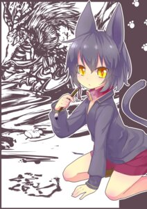 Rating: Safe Score: 7 Tags: animal_ears nekomimi nyori tail User: SciFi
