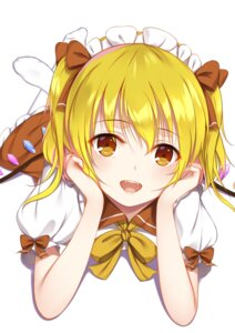 Rating: Safe Score: 39 Tags: flan_(seeyouflan) flandre_scarlet maid touhou wings User: Nepcoheart