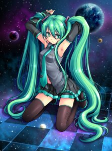 Rating: Safe Score: 32 Tags: ginta hatsune_miku thighhighs vocaloid User: charunetra
