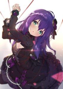 Rating: Safe Score: 43 Tags: bondage cleavage dress gothic_lolita lolita_fashion mochizuki_anna shennai_misha the_idolm@ster the_idolm@ster_million_live! User: Dreista