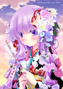 Rating: Safe Score: 46 Tags: hakutou kimono kirisame_marisa patchouli_knowledge touhou User: Zenex