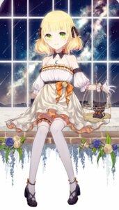Rating: Safe Score: 32 Tags: dress garter heels neko saikou-iro_aurora thighhighs User: Mr_GT