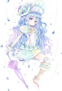 Rating: Safe Score: 18 Tags: dress pointy_ears thighhighs tsukiyo_(skymint) umbrella User: BattlequeenYume