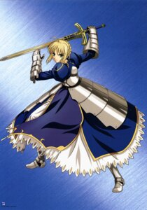 Rating: Safe Score: 7 Tags: armor dress fate/stay_night saber sword User: Radioactive