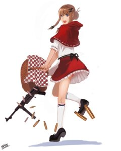 Rating: Safe Score: 9 Tags: gun little_red_riding_hood_(character) madu red_riding_hood User: blooregardo