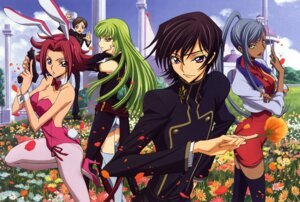 Rating: Safe Score: 29 Tags: animal_ears bunny_ears bunny_girl c.c. code_geass ishida_kana kallen_stadtfeld lelouch_lamperouge rollo_lamperouge thighhighs viletta_nu User: Aurelia