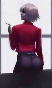 Rating: Safe Score: 9 Tags: ass fate/grand_order jeanne_d'arc jeanne_d'arc_(alter)_(fate) megane smoking zaki_(zaki_btw) User: Werewolverine4