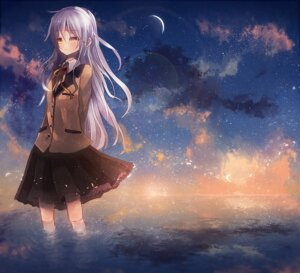 Rating: Safe Score: 11 Tags: angel_beats! seifuku shinta_(nana77nana) tenshi User: Radioactive