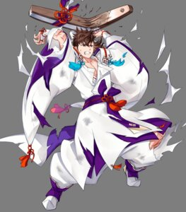 Rating: Questionable Score: 3 Tags: fire_emblem fire_emblem_heroes fire_emblem_if hinata_(fire_emblem) japanese_clothes kano_akira nintendo torn_clothes User: fly25