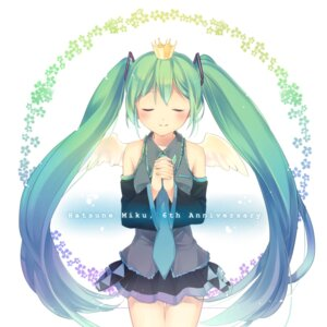 Rating: Safe Score: 12 Tags: hatsune_miku hinata-t6 vocaloid wings User: ddns001