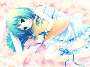 Rating: Safe Score: 25 Tags: cuffs dress garden otokawa_sayo sakurazawa_izumi wallpaper User: fireattack