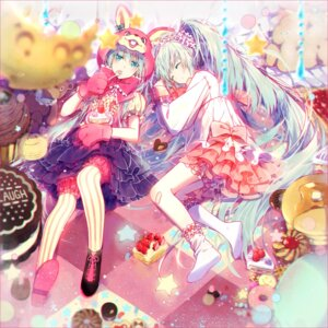 Rating: Safe Score: 37 Tags: bandaid hakusai hatsune_miku lots_of_laugh_(vocaloid) pantyhose vocaloid User: tbchyu001