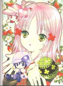 Rating: Safe Score: 3 Tags: binding_discoloration hinamori_amu miki peach-pit ran shugo_chara User: noirblack