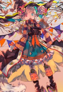 Rating: Safe Score: 22 Tags: bandages cha_goma dress heels heterochromia stockings thighhighs witch User: charunetra