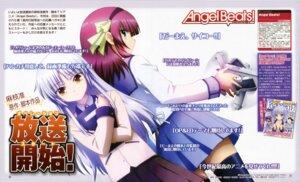 Rating: Safe Score: 8 Tags: angel_beats! gun seifuku suzuki_misaki tenshi thighhighs yurippe User: acas