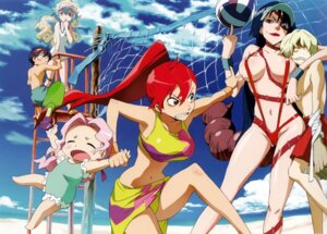 Rating: Questionable Score: 44 Tags: adiane bikini darry nia shinagawa_hiroki simon sling_bikini swimsuits tengen_toppa_gurren_lagann viral yoko User: howagirlfigures