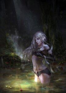 Rating: Safe Score: 26 Tags: bikini mecha_musume nier_automata saya_song swimsuits wet yorha_type_a_no._2 User: mash