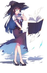 Rating: Safe Score: 65 Tags: cleavage dress heels skirt_lift torn_clothes witch yuwan_2333 User: Mr_GT