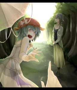Rating: Safe Score: 11 Tags: dress izayoi_sakuya megane regura remilia_scarlet touhou User: Radioactive