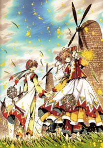 Rating: Safe Score: 9 Tags: clamp dress kinomoto_sakura li_syaoran tsubasa_reservoir_chronicle User: Radioactive