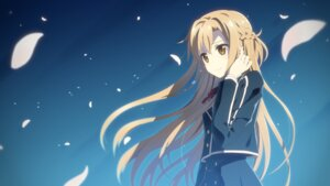 Rating: Safe Score: 87 Tags: asuna_(sword_art_online) seifuku studio_s.d.t. sword_art_online wallpaper yuuki_tatsuya User: edogawaconan