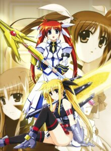 Rating: Safe Score: 9 Tags: fate_testarossa mahou_shoujo_lyrical_nanoha mahou_shoujo_lyrical_nanoha_strikers takamachi_nanoha User: Radioactive