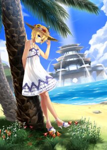 Rating: Safe Score: 31 Tags: dress heels phantasy_star_online_2 ryou@ryou summer_dress User: Mr_GT