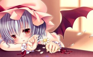 Rating: Safe Score: 24 Tags: irori_kyouka_gekkan jpeg_artifacts remilia_scarlet touhou wings User: blooregardo