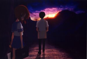 Rating: Safe Score: 15 Tags: higurashi_no_naku_koro_ni maebara_keiichi ryuuguu_rena User: charly_rozen