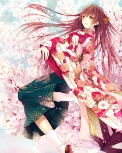 Rating: Safe Score: 53 Tags: japanese_clothes saijou_yukina User: Mr_GT