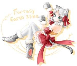 Rating: Safe Score: 9 Tags: animal_ears fantasy_earth_zero shinsui_saya tail thighhighs User: fairyren