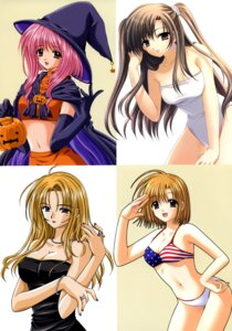 Rating: Questionable Score: 19 Tags: bikini cleavage erect_nipples nishimata_aoi swimsuits witch User: fireattack