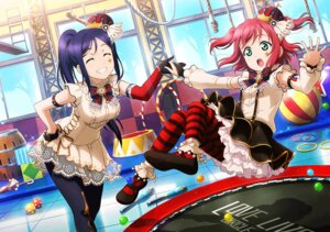 Rating: Safe Score: 36 Tags: kurosawa_ruby love_live!_sunshine!! matsuura_kanan pantyhose User: fly24