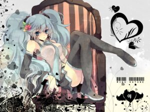 Rating: Safe Score: 23 Tags: hatsune_miku kokonoe_miya thighhighs vocaloid User: blooregardo