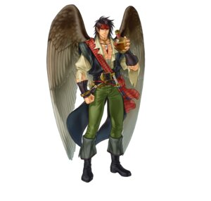Rating: Questionable Score: 1 Tags: bandages fire_emblem fire_emblem:_souen_no_kiseki fire_emblem_heroes heels kita_senri nintendo pirate pointy_ears tibarn wings User: fly24