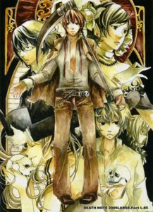 Rating: Safe Score: 5 Tags: death_note mello mikami_teru near yagami_light User: Radioactive