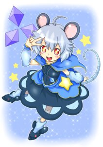 Rating: Safe Score: 3 Tags: an animal_ears nazrin tail touhou User: Mr_GT