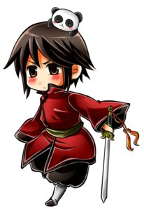 Rating: Safe Score: 2 Tags: chibi hajime_(kaniku) hetalia_axis_powers hong_kong male User: lunalunasan