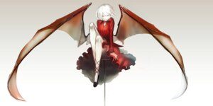 Rating: Safe Score: 33 Tags: dress heels remilia_scarlet tmt touhou wings User: zero|fade