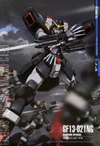 Rating: Safe Score: 6 Tags: g_gundam gundam maeda_seimei mecha sword weapon User: drop